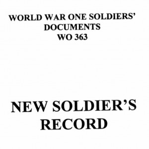 First World War Service Records