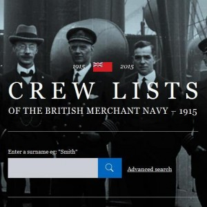 Merchant Navy Crew Lists 1915